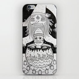 Jumped out the sorcerers cauldron. iPhone Skin