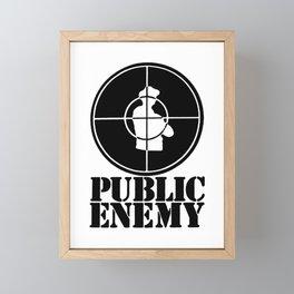 Public Enemy Framed Mini Art Print