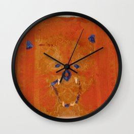 Lions Roar on Seat Cushion Wall Clock