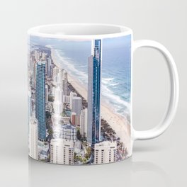 Surfers Paradise high rise skyline in Gold Coast, Queensland, Australia Coffee Mug