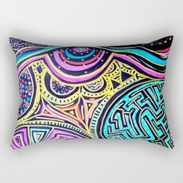 Omniscient Rectangular Pillow