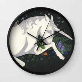 Unicorn's Lament Wall Clock