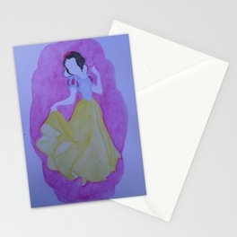 """Snow White"" Stationery Cards"