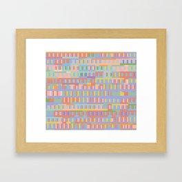 Beethoven Moonlight Sonata (Hushed Tones) Framed Art Print