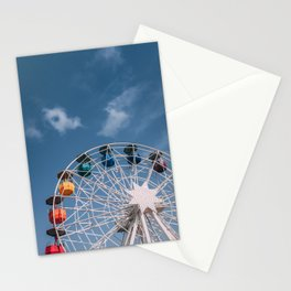 Colourful Ferry Wheel Stationery Cards