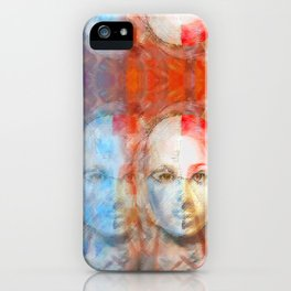 The Passage Fragment Panel iPhone Case