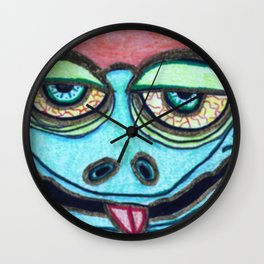 He kissed me and I liked it. Wall Clock