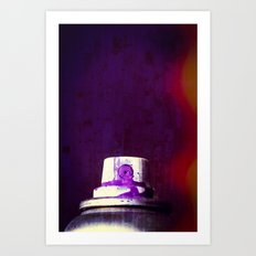 Sprayed Art Print