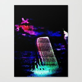 Etheric Degeneration Canvas Print