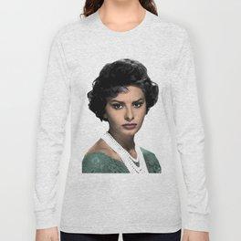 SOPHIA L O R E N Long Sleeve T-shirt