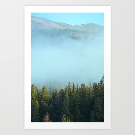 Early Morning Mist Art Print