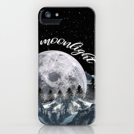 in the moonlight iPhone Case