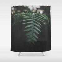 fern Shower Curtains featuring Fern by Bor Cvetko