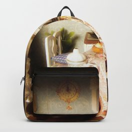 dollhouse christmas Backpack