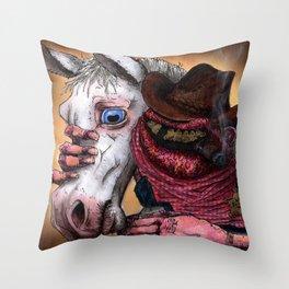 Justice A Skew Throw Pillow