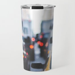 TAXI - CAB - CITY - CARS - PHOTOGRAPHY Travel Mug