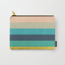 Colorful Timeless Stripes Totetsu Carry-All Pouch