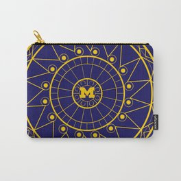Michigan Mandala Carry-All Pouch
