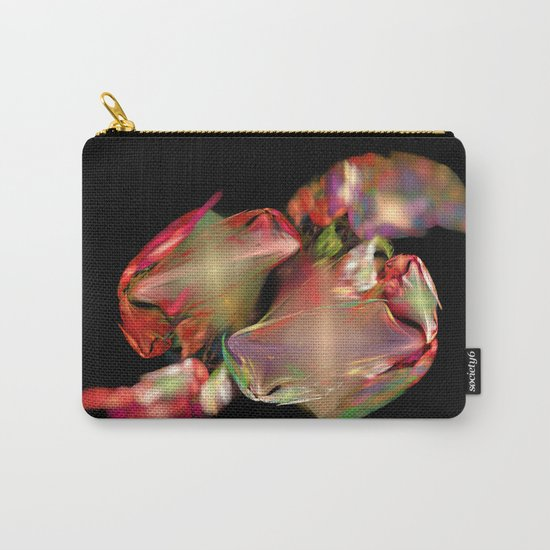 Flower Work  (A7 B0236) Carry-All Pouch