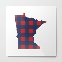 Minnesotans Love Baseball Metal Print