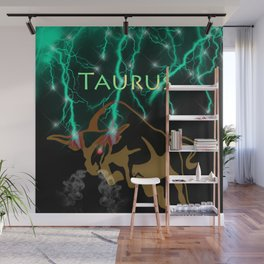 Taurus Birth Sign Wall Mural