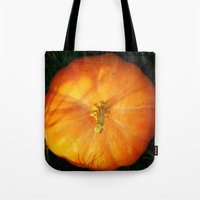 pumpkin Tote Bags featuring Pumpkin ^_^ by Julia Kovtunyak