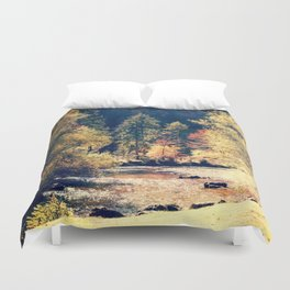 Austrian fall Duvet Cover