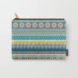 Blue Streaks Carry-All Pouch