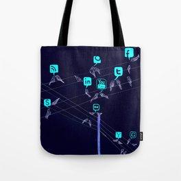 Bird Society Tote Bag