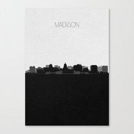 City Skylines: Madison Canvas Print