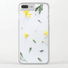 Daisies Are the Friendliest Flowers Clear iPhone Case