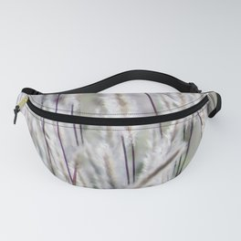Silver hair grass Fanny Pack