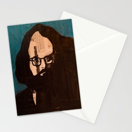 Who stood before you speechless — Allen Ginsberg Stationery Cards