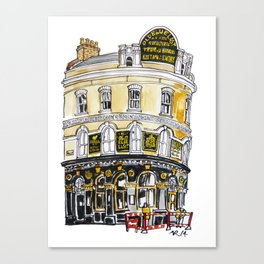 Old Blue Last Pub Canvas Print