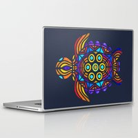 turtle Laptop & iPad Skins featuring Turtle by ArtLovePassion