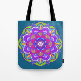 Colourful mandala Tote Bag