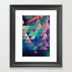 nyyt stryyt Framed Art Print