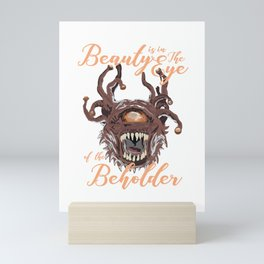 Beauty Is In The Eye Of The Beholder RPG Tabletop Mini Art Print