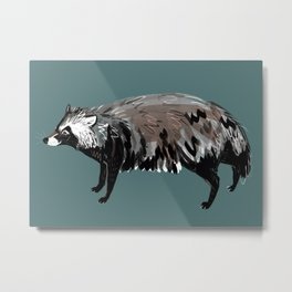 Raccoon dog #1 Metal Print