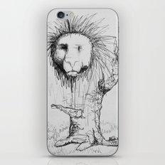 Lion Tree iPhone & iPod Skin