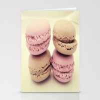 macaroons Stationery Cards featuring macaroons by  Alexia Miles photography