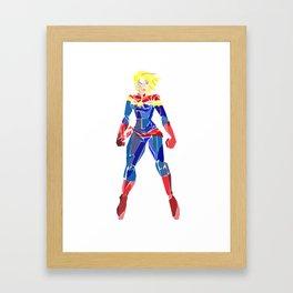 Carol Danvers Framed Art Print