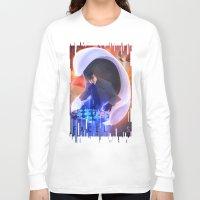 sam smith Long Sleeve T-shirts featuring Sam by Jessica Bradley