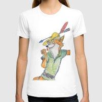 robin hood T-shirts featuring Robin Hood  by Renatta Maniski-Luke