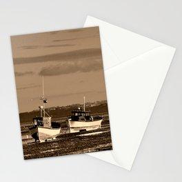 Boats Thorpe Bay Southend on Sea Essex England Stationery Cards