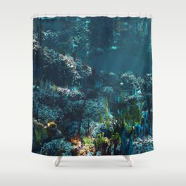 Nemo's Garden Shower Curtain