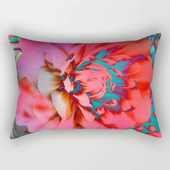 Proud Dahlias 2 Rectangular Pillow