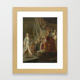 Salome Dancing for Herod, Hans Horions, 1634 - 1672 Framed Art Print