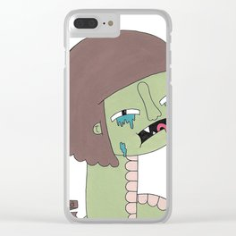 cry baby Clear iPhone Case
