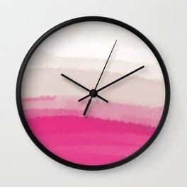 Sea - Line Clolor Pattern V5 Wall Clock